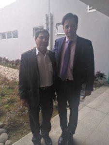 Álvaro Jiménez y Jorge de la Calle Martin  Director Relaciones Internacionales GSD